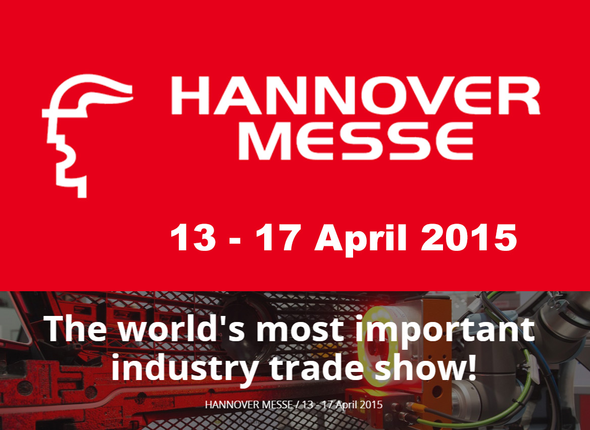 LCM at the Hannover Industrial Trade Fair (HMI) from 13.4 – 17.04.2015 – Hall 2, Stand A44
