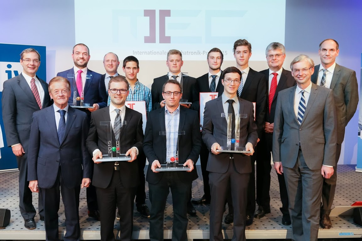 Der internationale Mechatronik-Preis | MEC | 2015