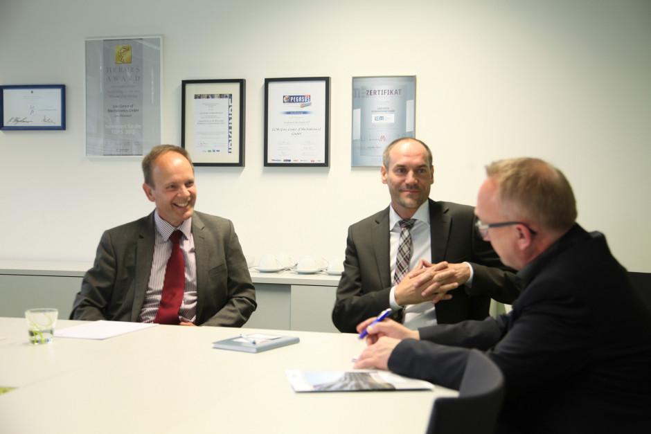 Mechatronic meets Business | Die LCM Geschäftsführung im Interview