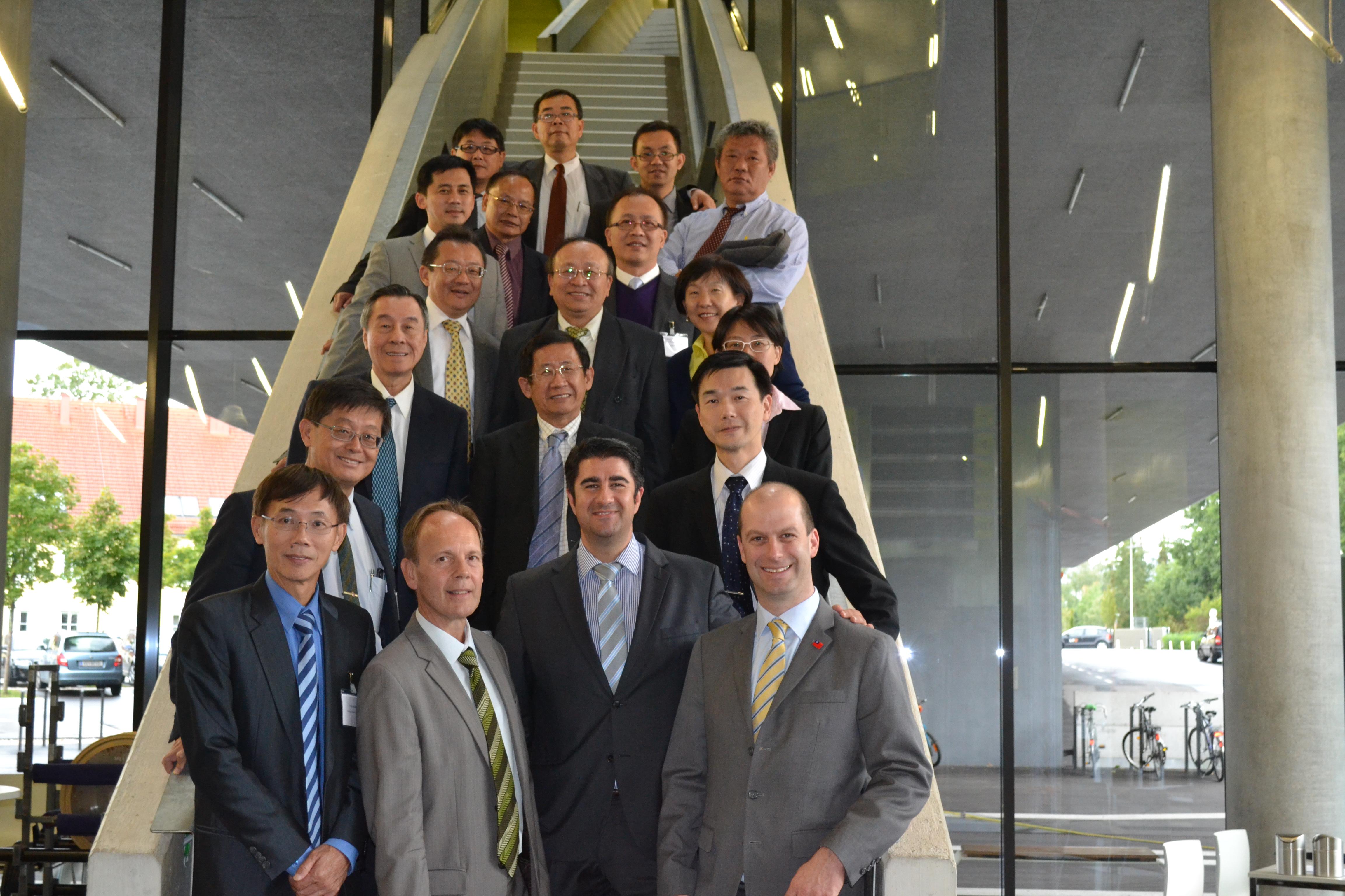 Visit from Taiwan at LCM