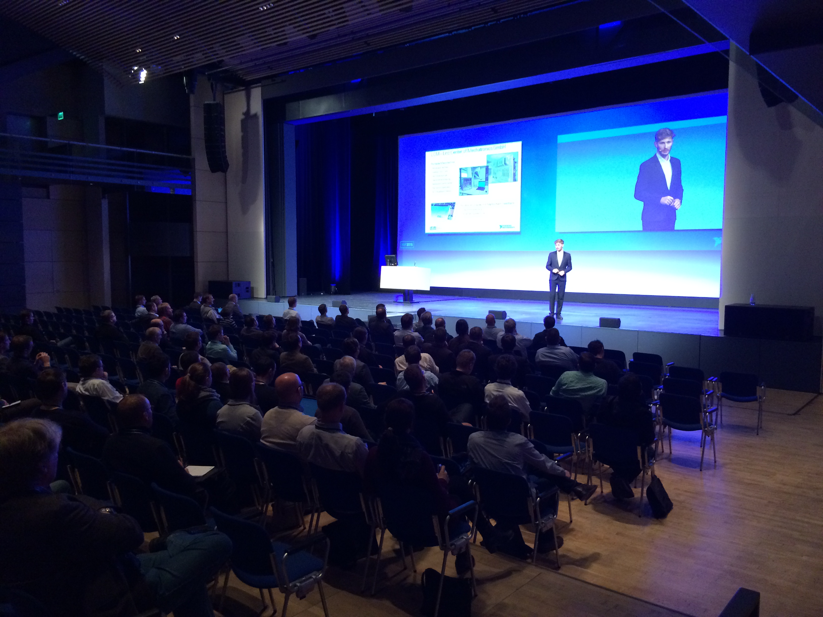 LCM und der National Instruments VIP-Kongress 2015