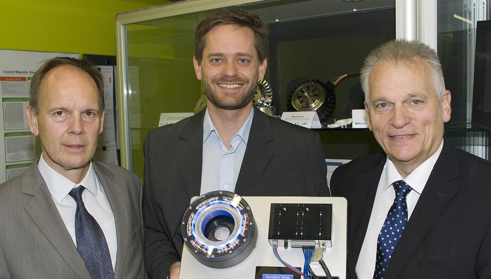 Zukunftstechnologien: Präsident des Bundesrates Gottfried Kneifel auf Besuch bei LCM