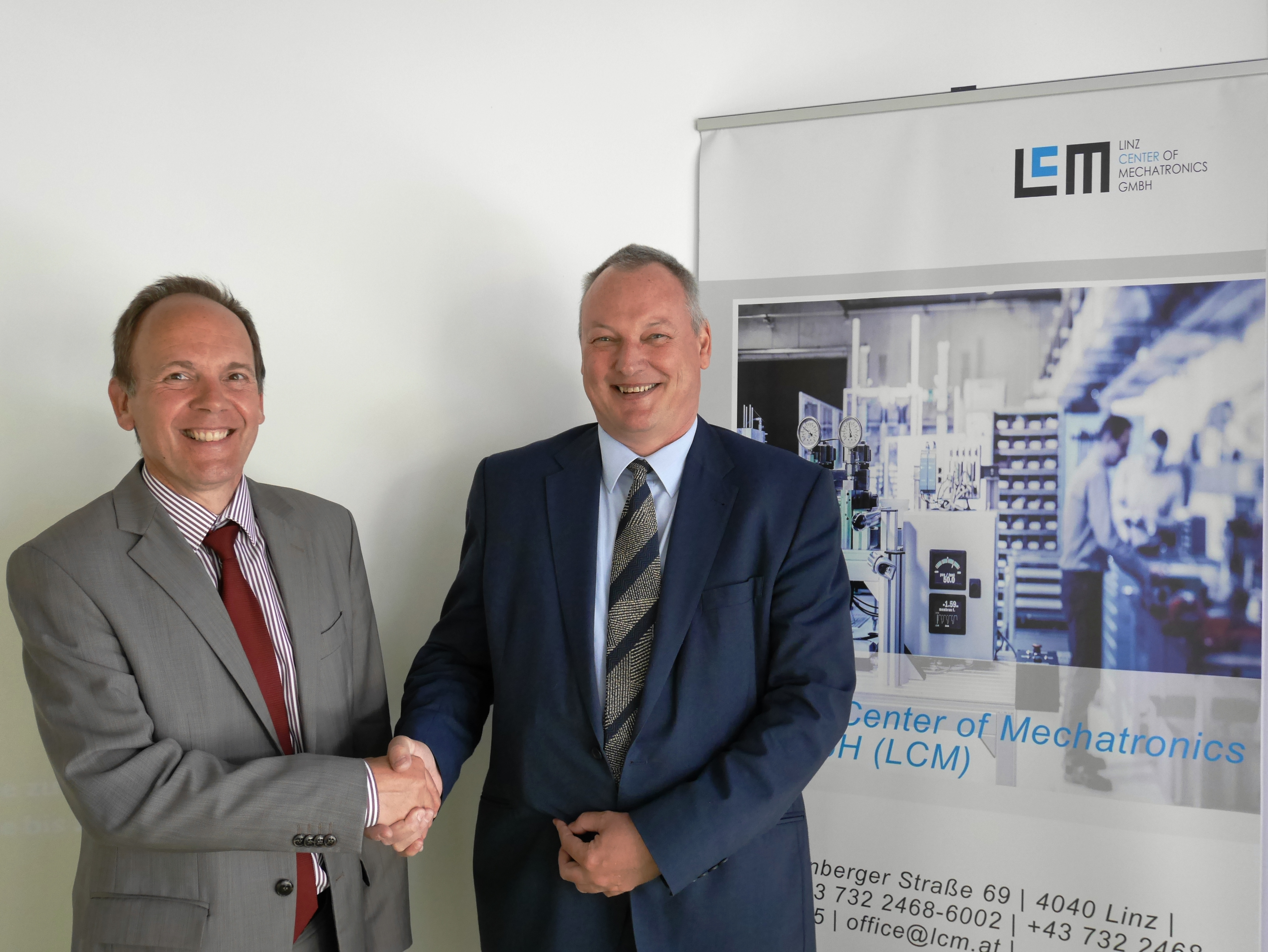 Belgian embassy visited the Linz Center of Mechatronics GmbH