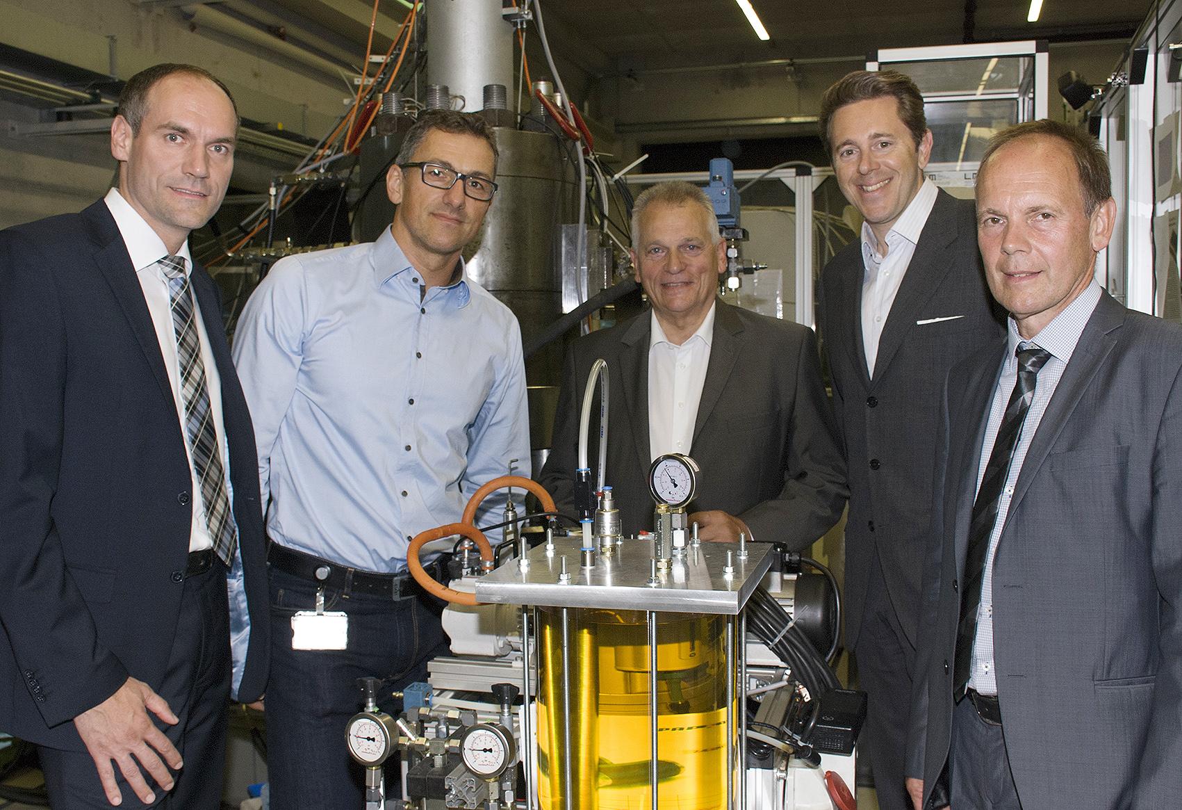 Staatssekretär Dr. Harald Mahrer besucht LCM