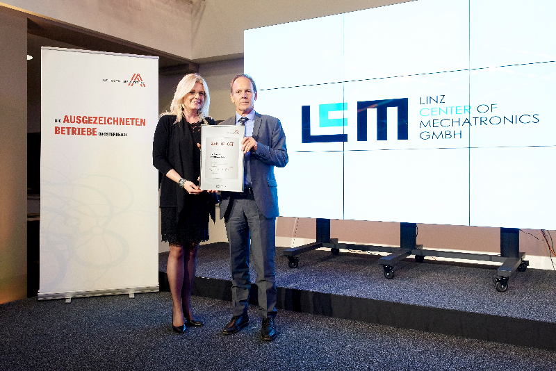 """LCM again certified from """"Leading Companies of Austria"""""""