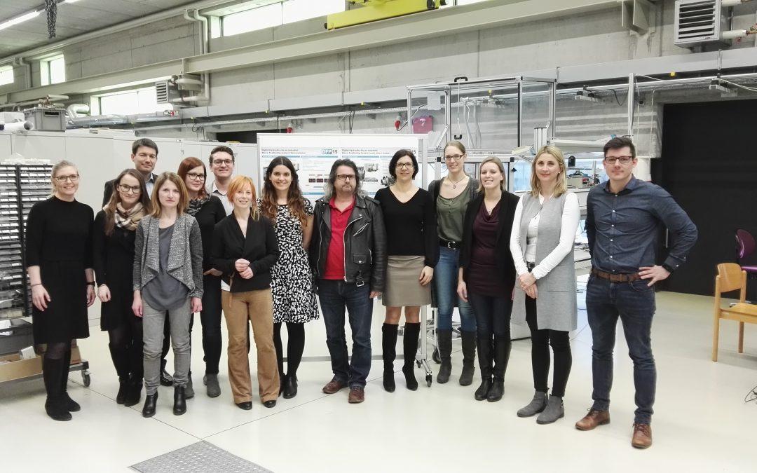 HR Netzwerk besucht die Linz Center of Mechatronics GmbH