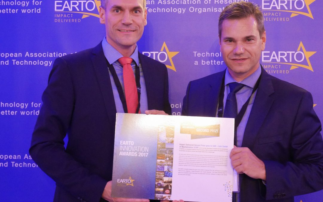 LCM and Smartbow Win 2nd Prize at the European Innovation Awards