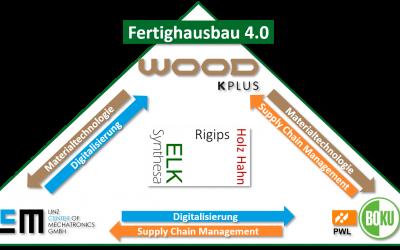 Fertighausbau 4.0: Produktion der Zukunft