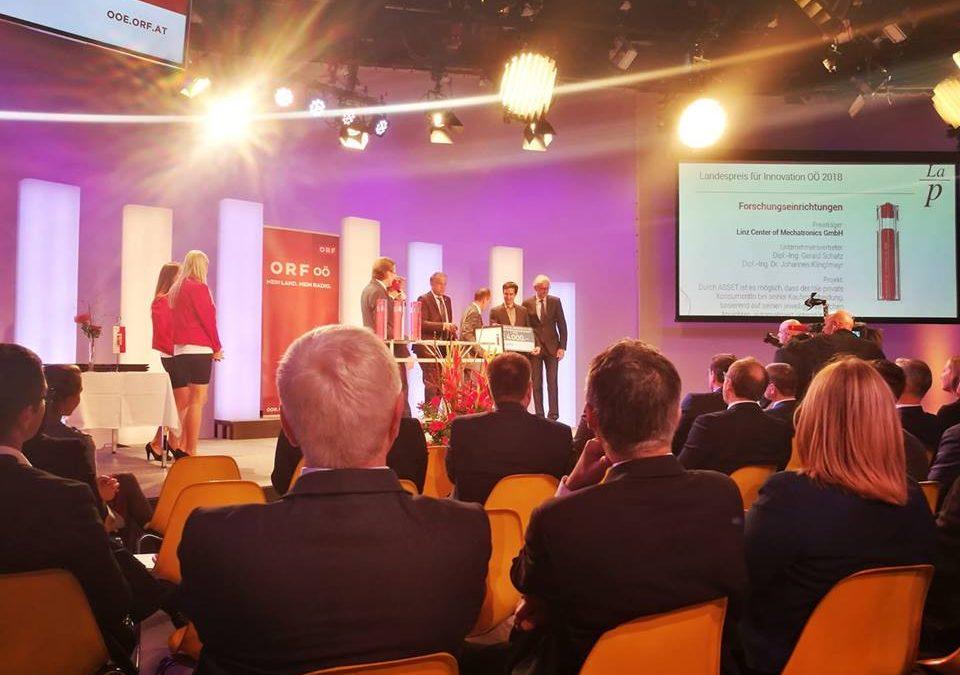 Wir haben gewonnen: Landespreis für Innovation Oberösterreich 2018
