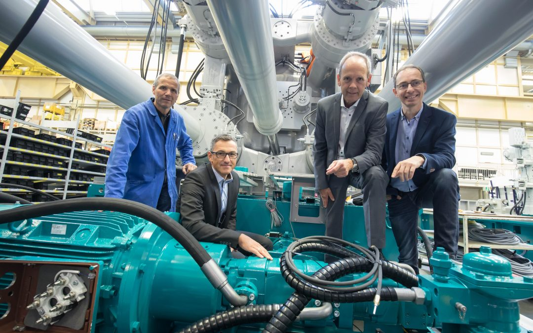 """High Carat"" pump tuning LCM and Bühler extend pump life of the Carat die casting machine"