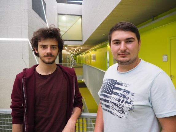 Internship @ LCM | Gadei Tudor und Barna Simion aus Rumänien