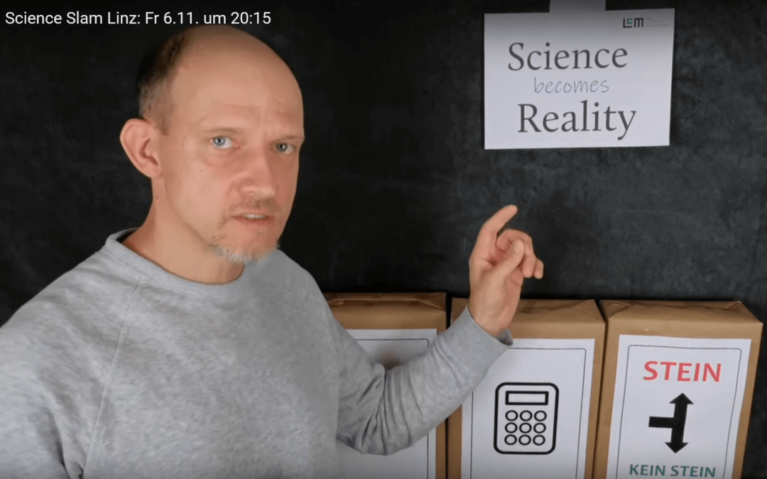 Wissenschaftliche Unterhaltung – LCM beim Science Slam 2020