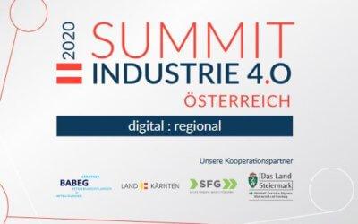 LCM-Vortrag Digitaler Zwilling (Change2Twin) beim Summit Industrie 4.0 Österreich