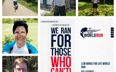 LCM Wings for Life World Run