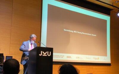 LCM sponsors JKU Young Researchers Award 2021